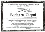 Ciepał Barbara