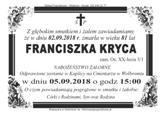 Kryca Franciszka