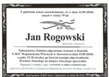 Rogowski Jan
