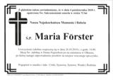 Förster Maria