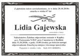 Gajewska Lidia