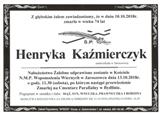 Kaźmierczyk Henryka