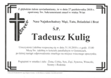 Kulig Tadeusz