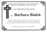 Białek Barbara