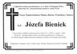 Bieniek Józefa