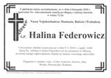 Federowicz Halina