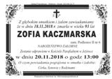 Kaczmarska Zofia