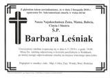 Leśniak Barbara