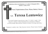 Lentowicz Teresa