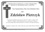 Pietrzyk Zdzisław