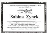 Zynek Sabina