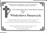 Ślusarczyk Władysława