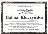 Kluczyńska Halina