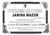 Mazur Janina