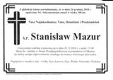 Mazur Stanisław