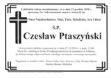 Ptaszyński Czesław