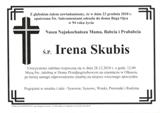 Skubis Irena