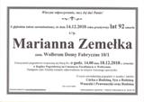 Zemełka Marianna