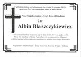 Błaszczykiewicz Albin