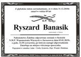 Banasik Ryszard