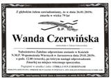 Czerwińska Wanda