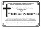 Dumanowski Władysław