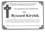 Kiryluk Ryszard