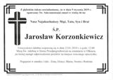Korzonkiewicz Jarosław