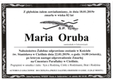 Oruba Maria