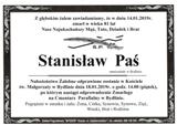 Paś Stanisław