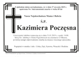 Poczęsna Kazimiera