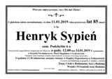 Sypień Henryk