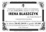 Błaszczyk Irena