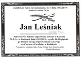 Leśniak Jan