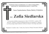 Siedlarska Zofia