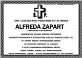 Zapart Alfreda