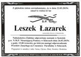 Łazarek Leszek