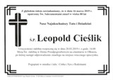 Cieślik Leopold