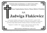Flakiewicz Jadwiga