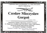 Gorgoń Czesław