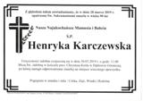 Karczewska Henryka