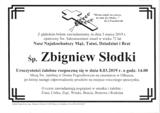 Słodki Zbigniew