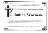 Woźniak Janina