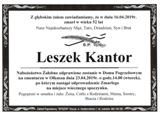 Kantor Leszek