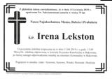 Lekston Irena