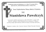 Pawełczyk Stanisława