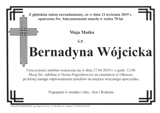 Wójcicka Bernadyna