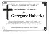 Haberka Grzegorz