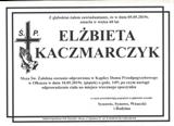 Kaczmarczyk Elżbieta