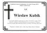 Kubik Wiesław